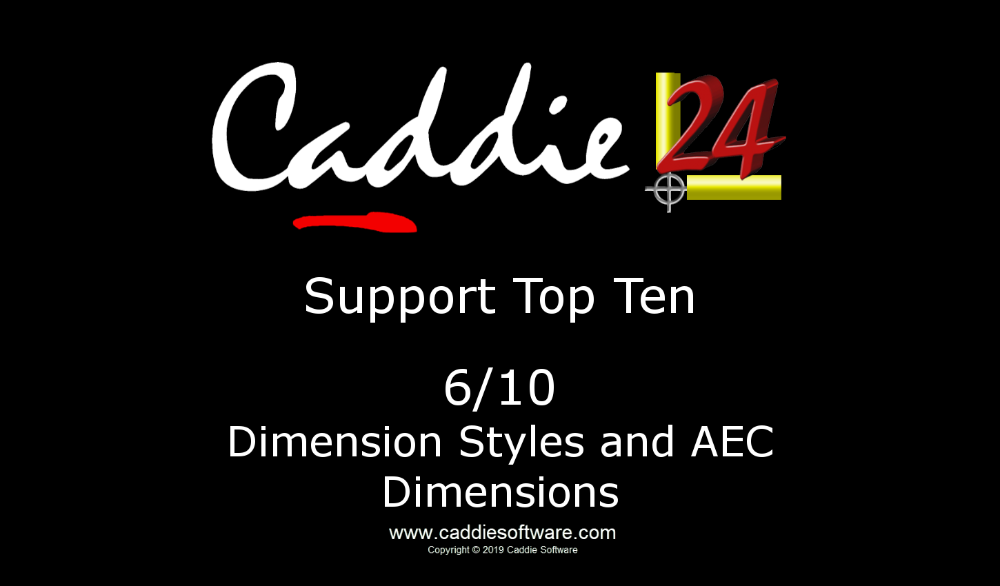 # 6/10 Dimensions and AEC Dimension Styles