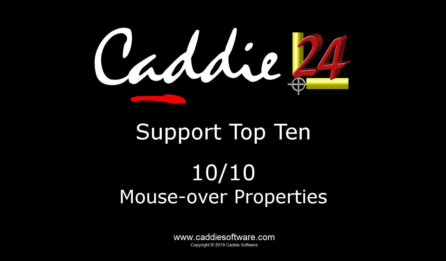 # 10/10 Mouse-over Properties